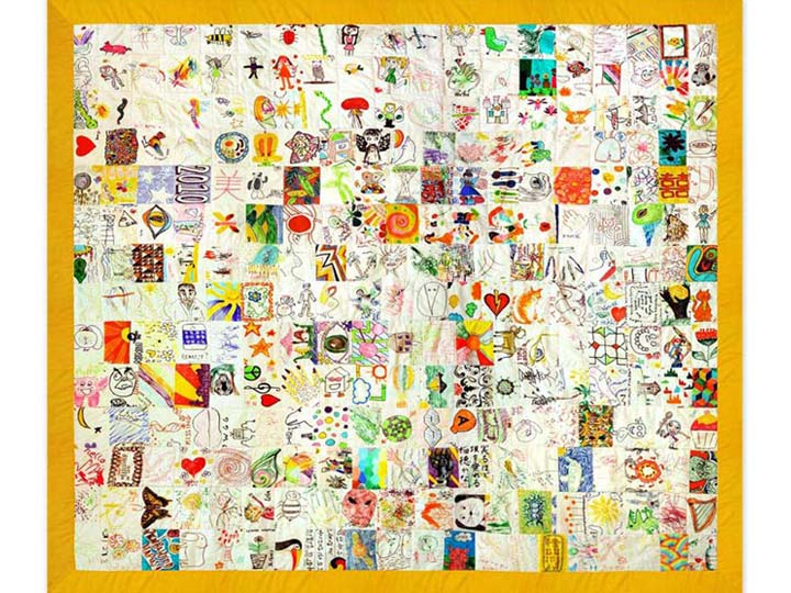 fabulous art quilt